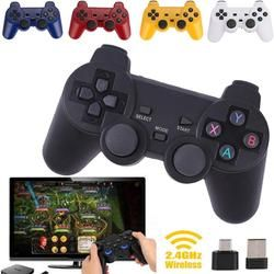 2.4g беспроводное устройство Тип-C игровой контроллер Джойстик Геймпад приемник OTG для xiaomi Android-смартфон для PS3 игровой консоли 5 видов цветов