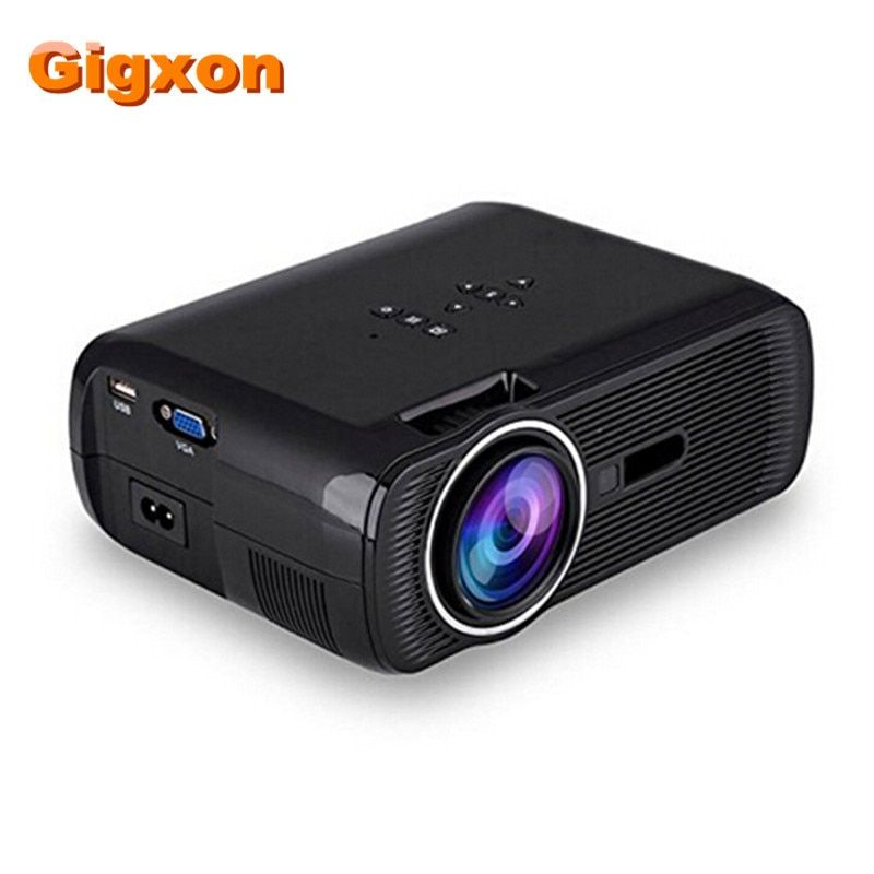 Gigxon-G80 1000 Ansi Lumens 1920*1080 Full HD Mini projecteur Portable Home cinéma projecteur LCD