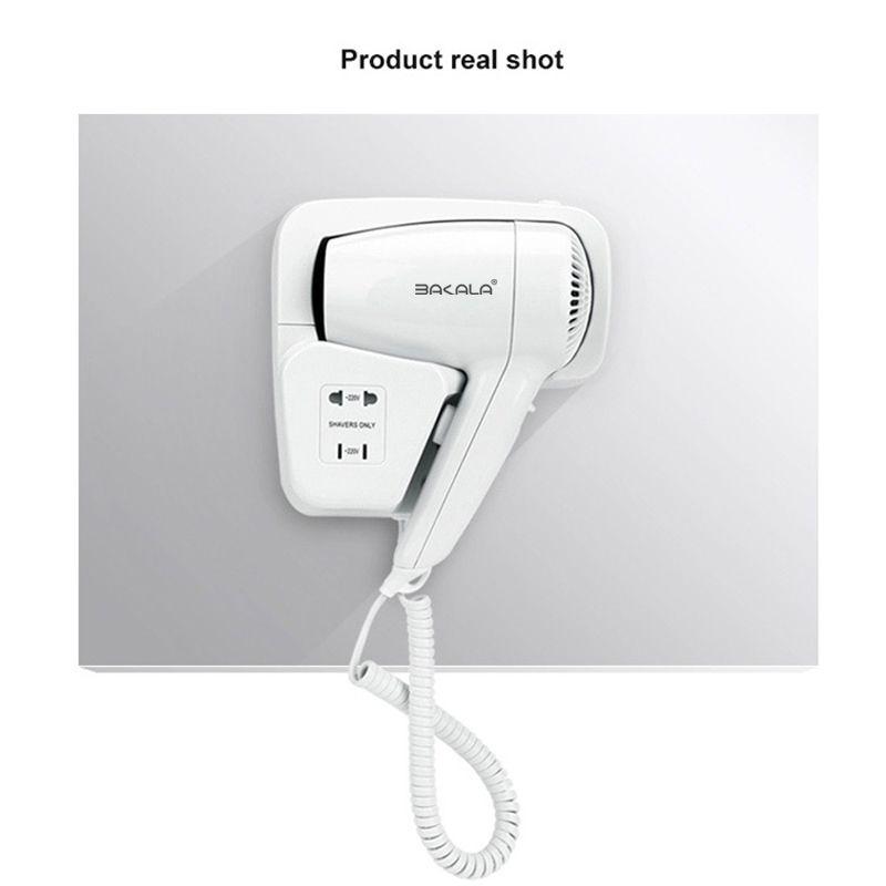 Hotel bathroom home bathroom hair dryer dry skin hanging wall hanging hair dryer for 220v