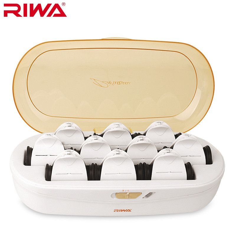 RIWA Heated hair Clips constant temperature not hurt hair low temperature hair styling Curling Irons Rapid heating 220V