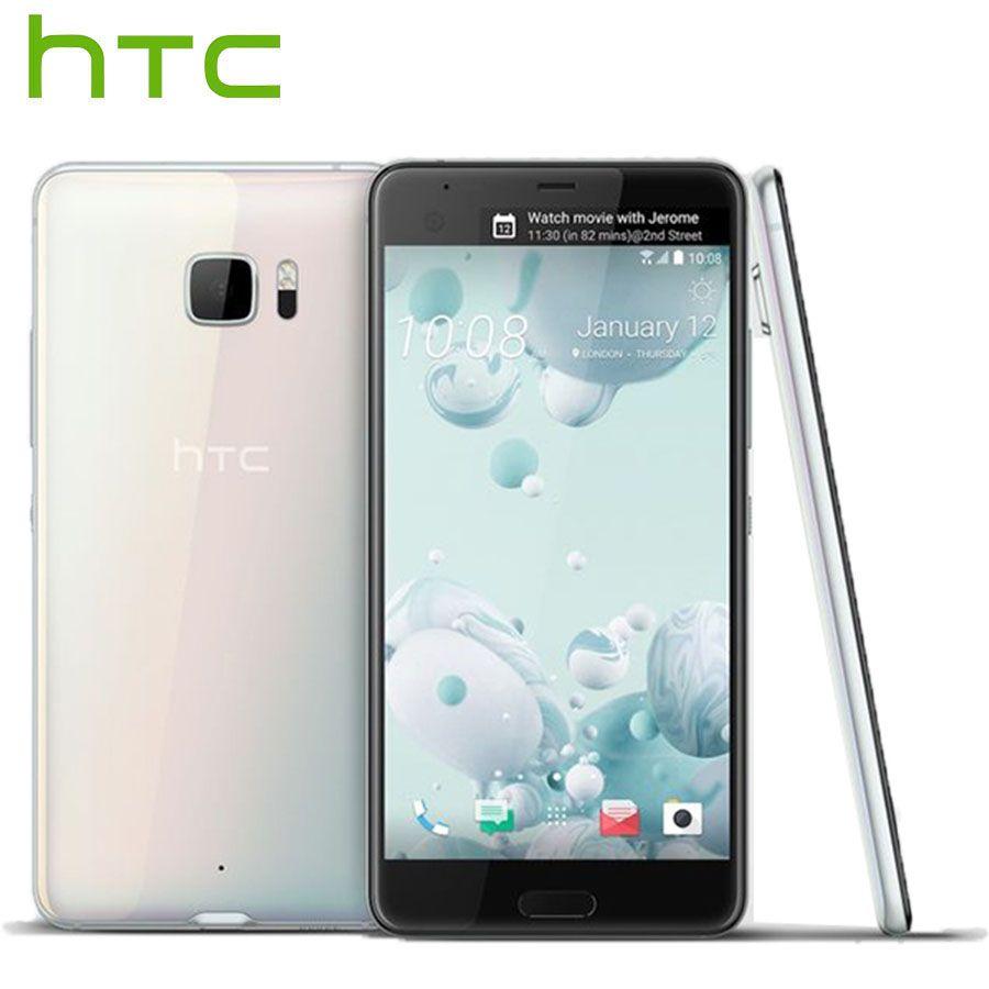 Offre spéciale HTC U Ultra LTE Mobile Téléphone Double SIM 4 GB 64 GB Snapdragon821 Quad Core 5.7 pouces 2560x1440px DualView Android Smartphone