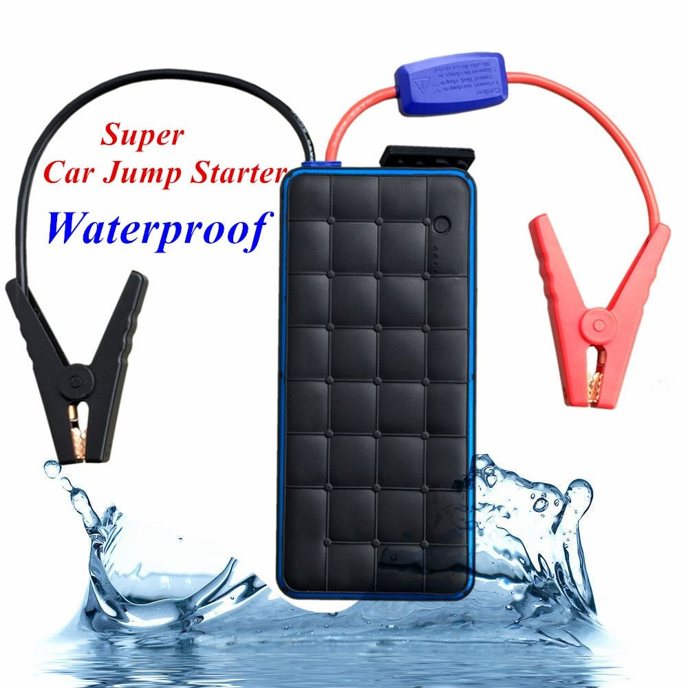 Car Jump Starter 1000A Peak Current Battery Fashionable Car Battery Booster Diesel Petrol Starting Emergency Auto Power Bank
