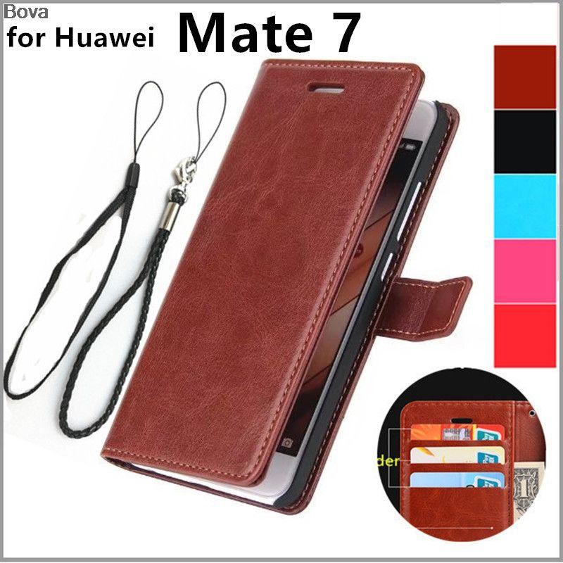 Huawei Mate 7 держатель карты Чехол для Huawei Ascend Mate 7 кожаный чехол для телефона ультра тонкий кошелек откидная крышка