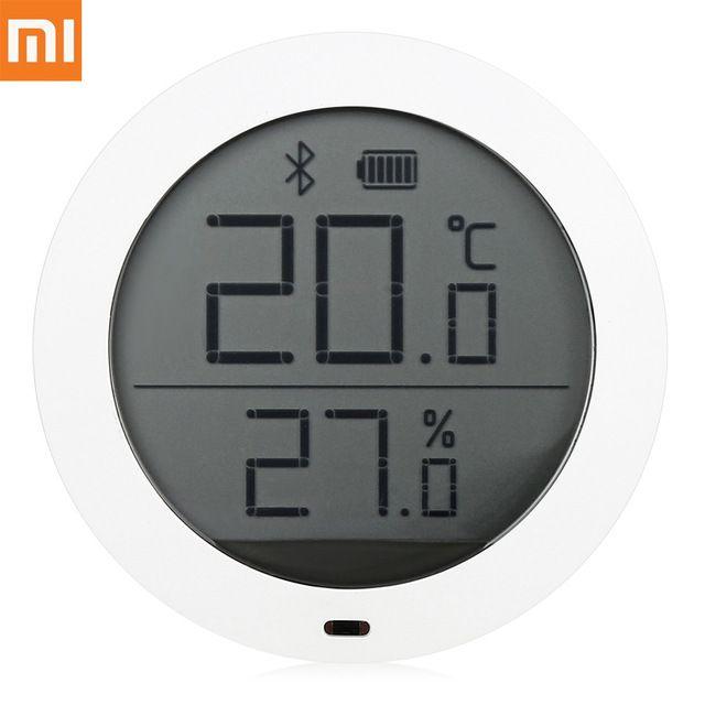 Xiaomi Smart Thermomètre LCD Écran Bluetooth Hygrothermographe Haute Sensibilité Hygromètre Maison Intelligente Température Humidité Capteur