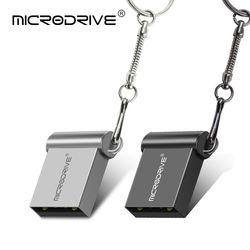 Супер мини микро флеш-накопитель металлический USB 8 ГБ 16 ГБ 32 ГБ 64 ГБ USB флэш-накопитель с логотипом на заказ подарочная карта памяти