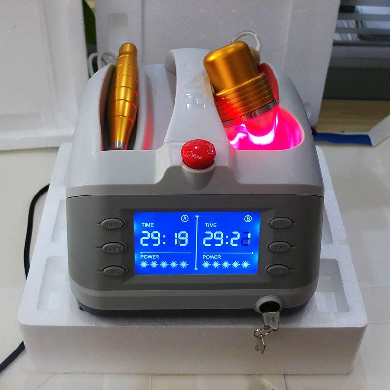 Low Power Laser Therapie zu repariert Weichgewebe, Wunden und Sport Verletzungen Gesundheitswesen