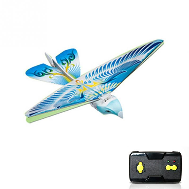 RC Bird RC Airplane 2.4 GHz Remote Control E-Bird Flying Birds Electronic Mini RC Drone Toys