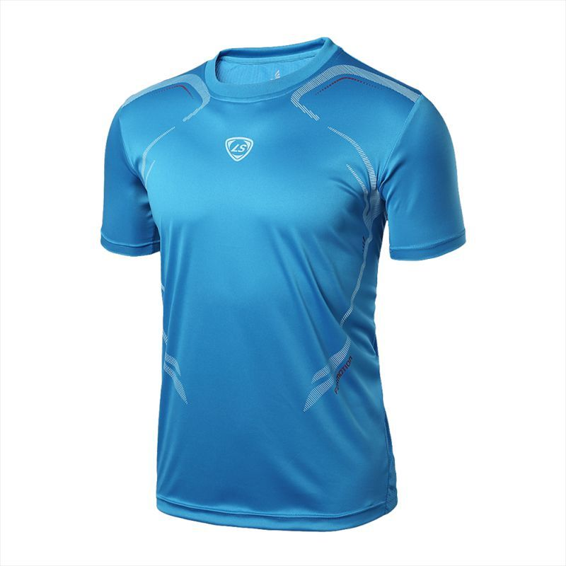 Men Gym Sport Running T Shirt Fitness Muscle Quick Dry Stretch Top Tee Clothes New