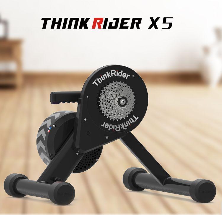 Thinkrider X5 20-29 MTB Fahrrad Smart Trainer Direkt Kette Stick Eingebauten Power Meter Bike Trainer Für PowerFun, zwift, PerfPro