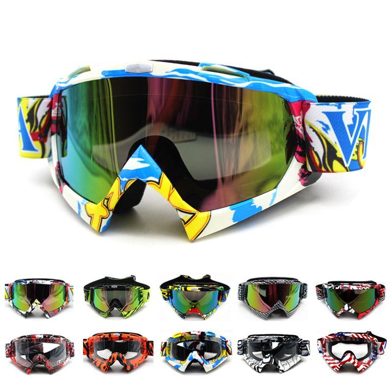 Oculos Motocross Goggles Glasses Cycling MX off road Helmets Ski Sport Gafas Motorcycle Dirt Bike Racing Goggles