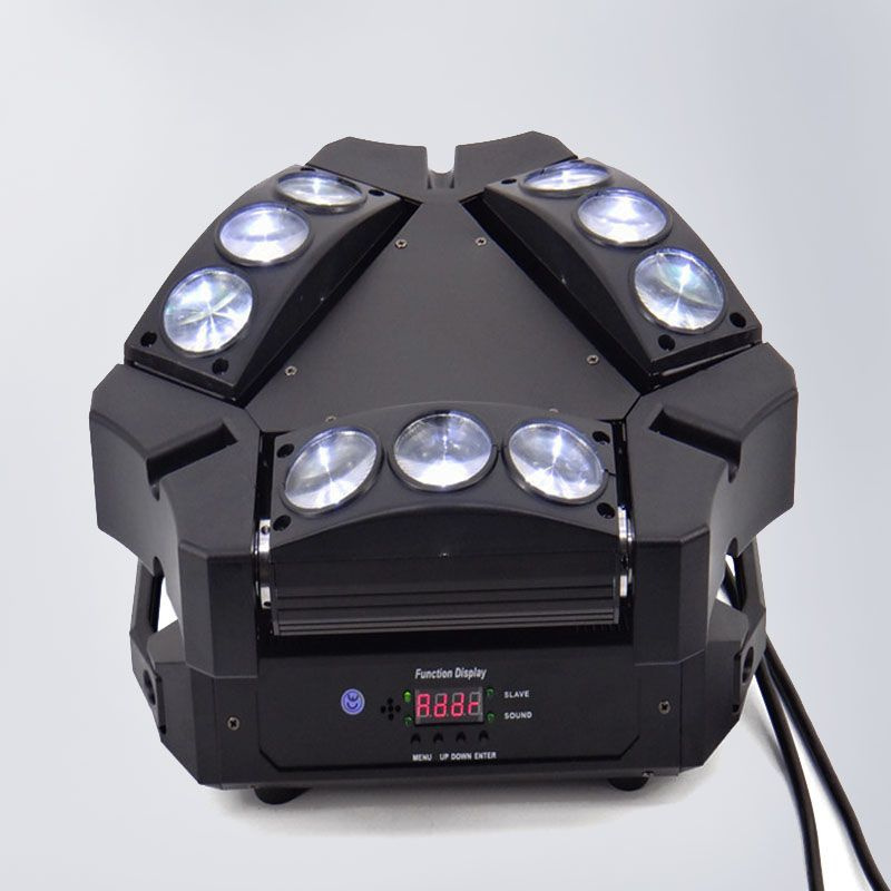 Mini Moving Head Led Spider Light 9x10W 4in1 RGBW Led Party Light DJ Lighting Beam Moving Head DMX DJ Light
