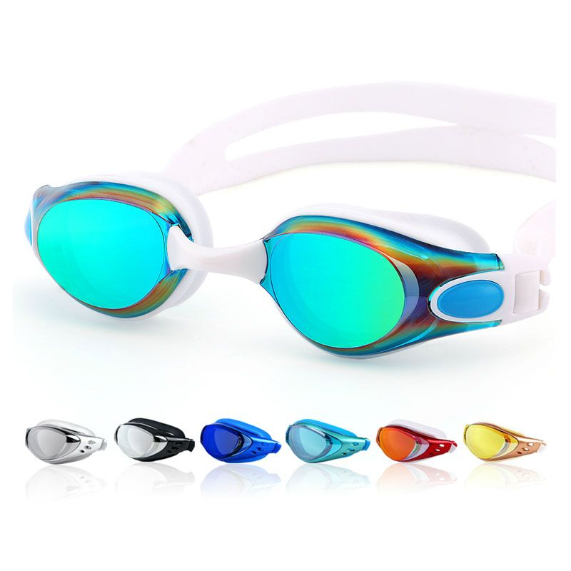 Swimming goggles Myopia Men and women Anti-Fog professional Waterproof silicone arena Pool swim eyewear Adult Swimming glasses