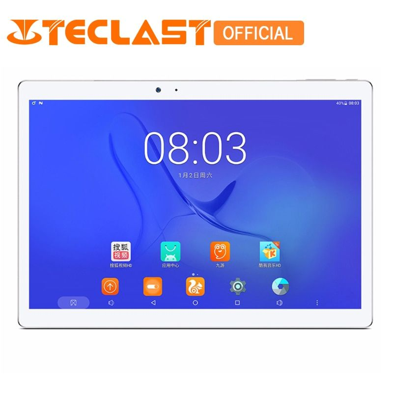 Teclast T10 Android 7.0 MT8176 Hexa Core 4GB RAM 64GB ROM 8.0MP+13.0 MP HDMI Fingerprint Sensor 10.1