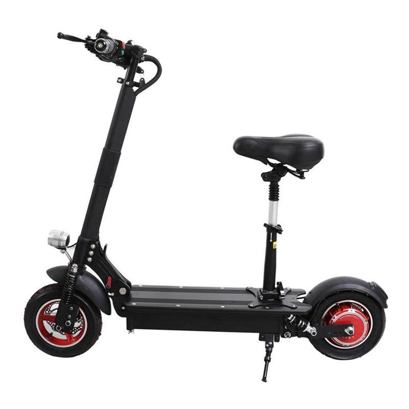 UBGO 1003 Klapp Elektrische Roller Elektrische Roller 10 zoll Einzigen Stick 1000 watt 52 v/48 v Wasserdichte Elektrische roller Für Erwachsene