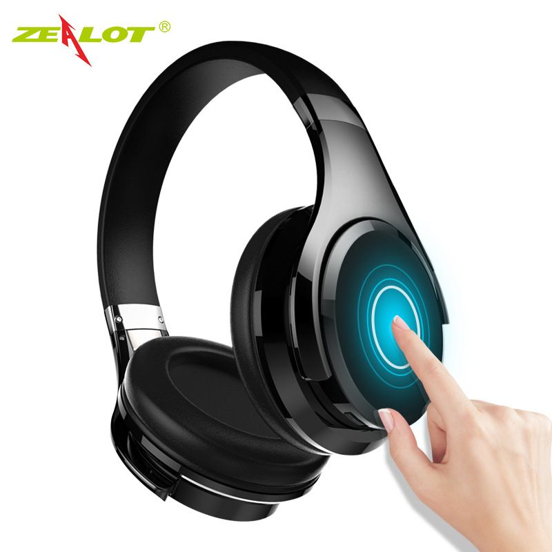 ZEALOT B21 Basses Profondes Portable Tactile Contrôle Sans Fil Bluetooth écouteurs avec Micro Intégré pour iPhone 6 6 s 7/7 Plus