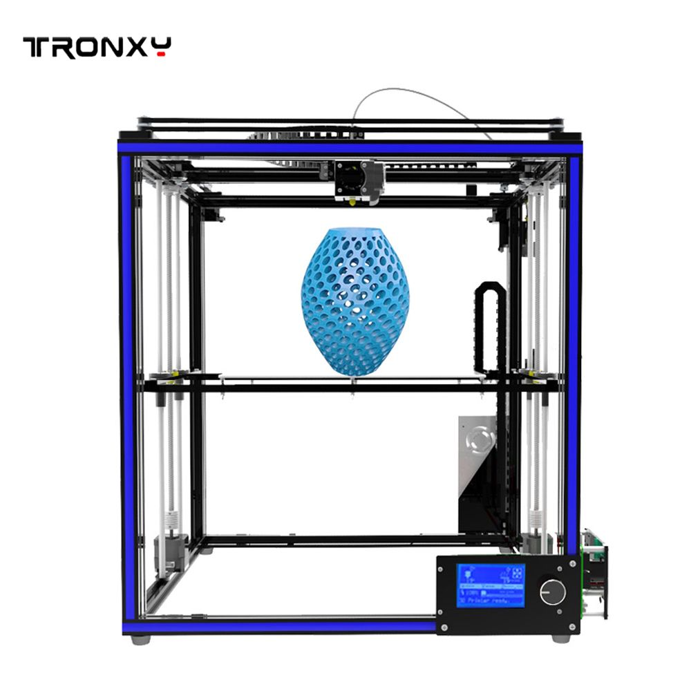 2017 NEW High Precision Tronxy X5S 3D Printer High Print Speed 3D DIY Kit Aluminum Hotbed with 8G SD Card