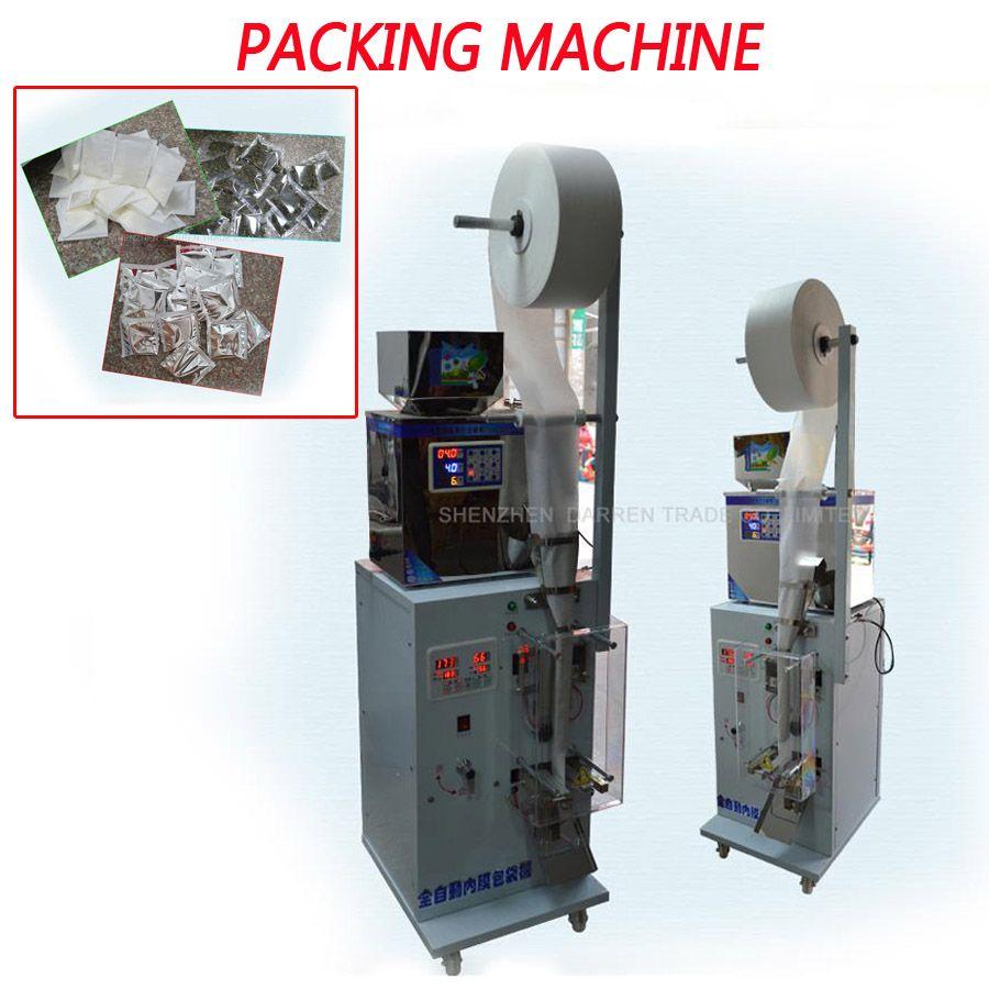1-25g Automatische beutel maschine und Tee Tasche Verpackung Maschine 0.2KW automatische wiegen maschine pulver füllstoff 15- 20 lebensmittel pakete