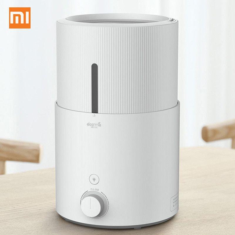 Original Xiaomi Mi Home Deerma DEM - SJS600 Ultrasonic Air Humidifier 5L Large Capacity Purifying Humidifier Xiaomi Youpin Aroma