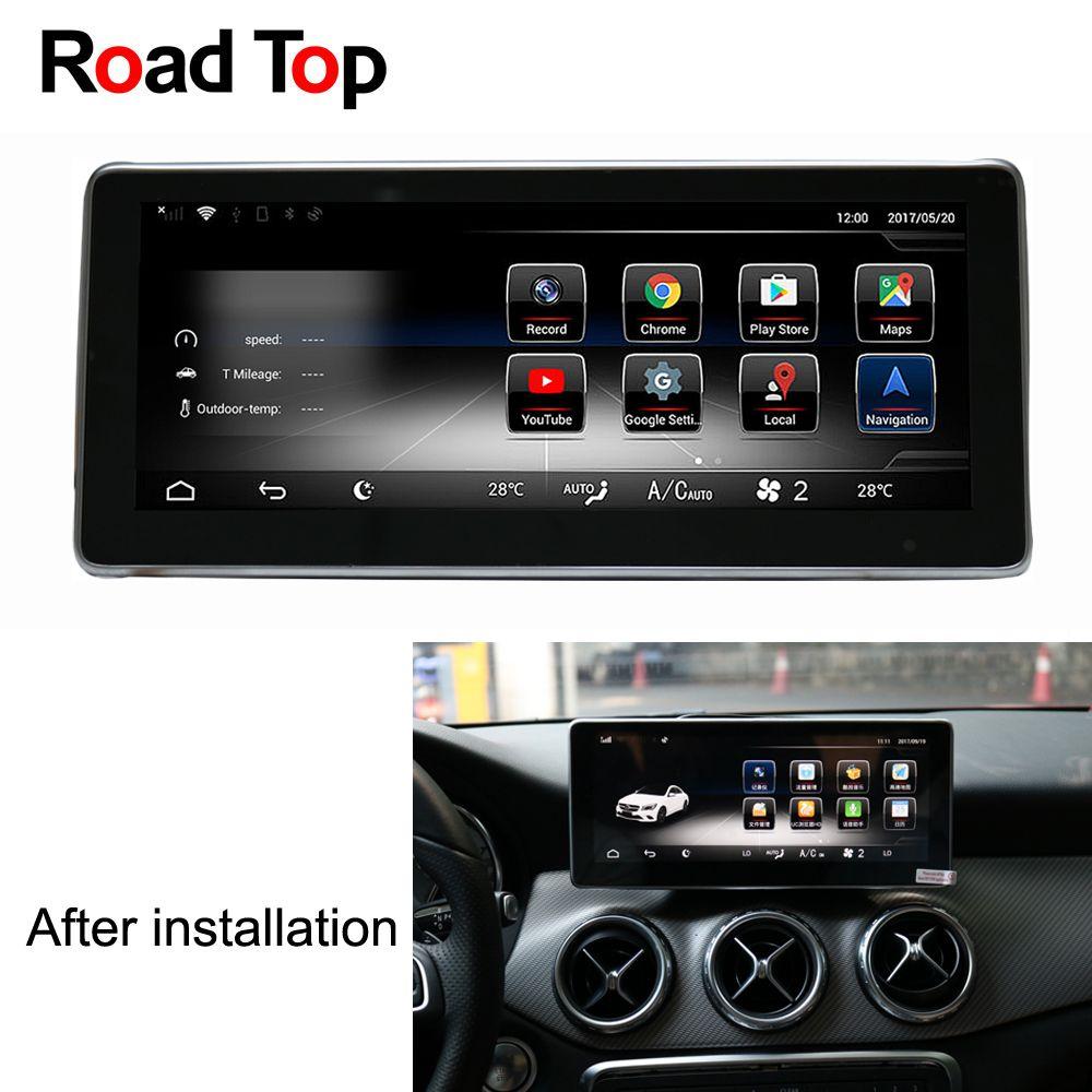 10,25 Android 7.1 Auto Radio GPS Navigation Bluetooth WiFi Kopf Einheit Bildschirm für Mercedes Benz GLA180 GLA200 GLA250 GLA220 GLA45
