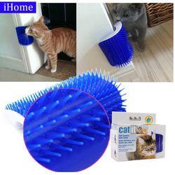 Produits pour animaux de compagnie Chat Masseur Lingettes Mignon Violon Artefact Bleu Meubles et Gratte chats meubles jouet pour Chats Brosse Peigne