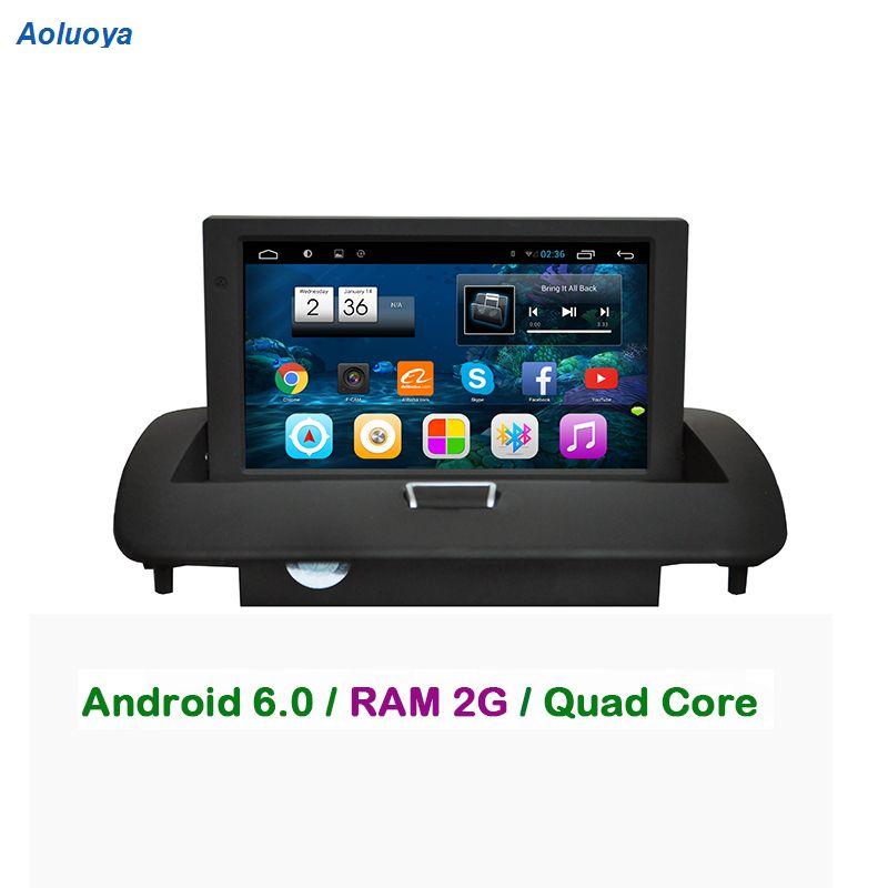 Aoluoya RAM 2 GB Android 6.0 Auto Radio DVD GPS-player Für VOLVO C30 C40 C70 S40 S60 V50 2008 2009 2010 2011 2012 spiegel link WIFI