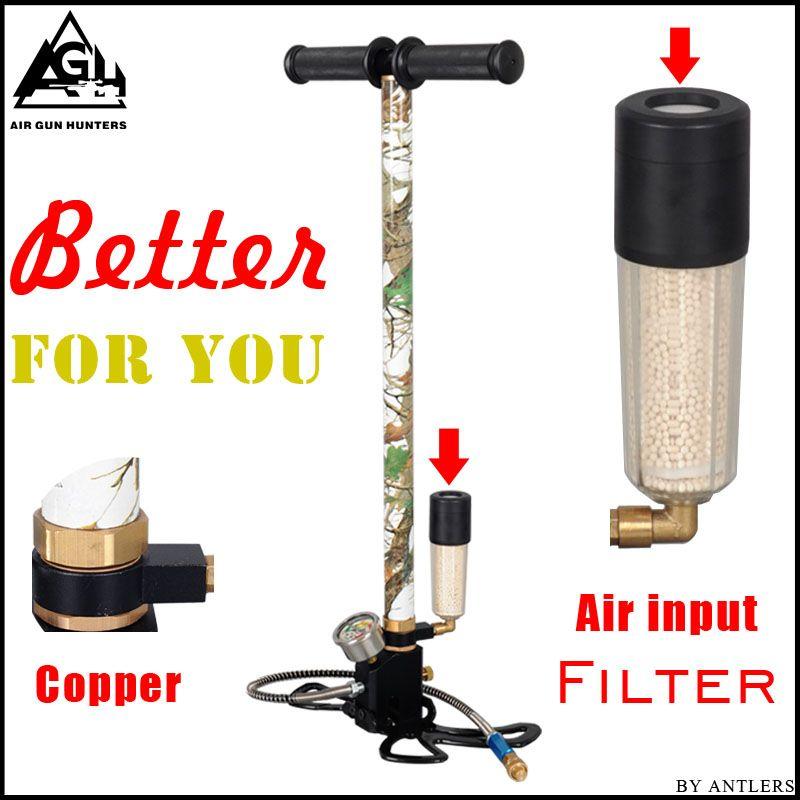 4500PSI PCP Pump Airgun air Rifle High Pressure Pcp Hand Pump with Air filter 40Mpa Gauge airsoft Paintball pump Stainless Steel
