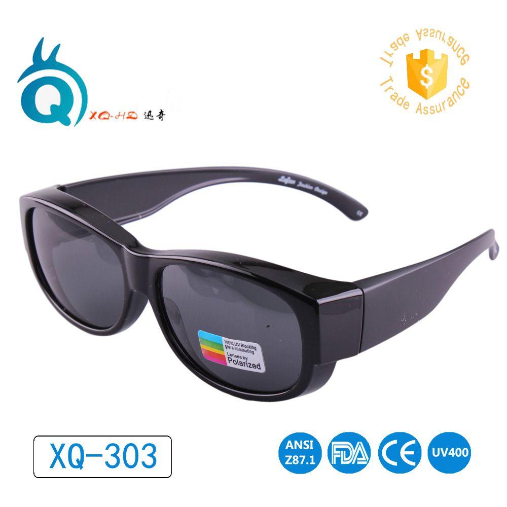 Lunettes Pour Sports de Plein Air Polarisées Lentille Couvre lunettes de Soleil Fit Plus lunettes de Soleil Porter Sur Des Lunettes