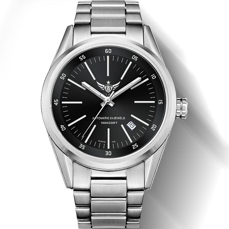 YELANG New Arrival V1017 100m Waterproof Super Long T25 Tritium Gas Tube Luminous Men Automatic Mechanical Watch Wristwatch