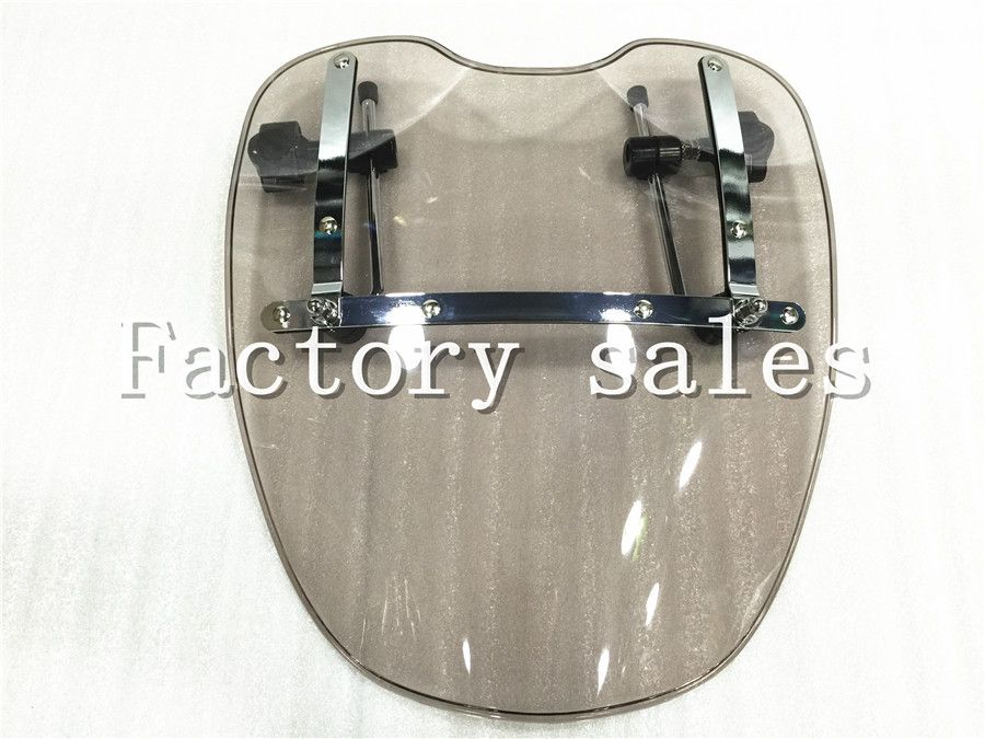 Free Shipping Brand New Motorcycle Windshield Windscreen for Harley Davidson Sportster Dyna Glide Softail XL 883 1200 xl