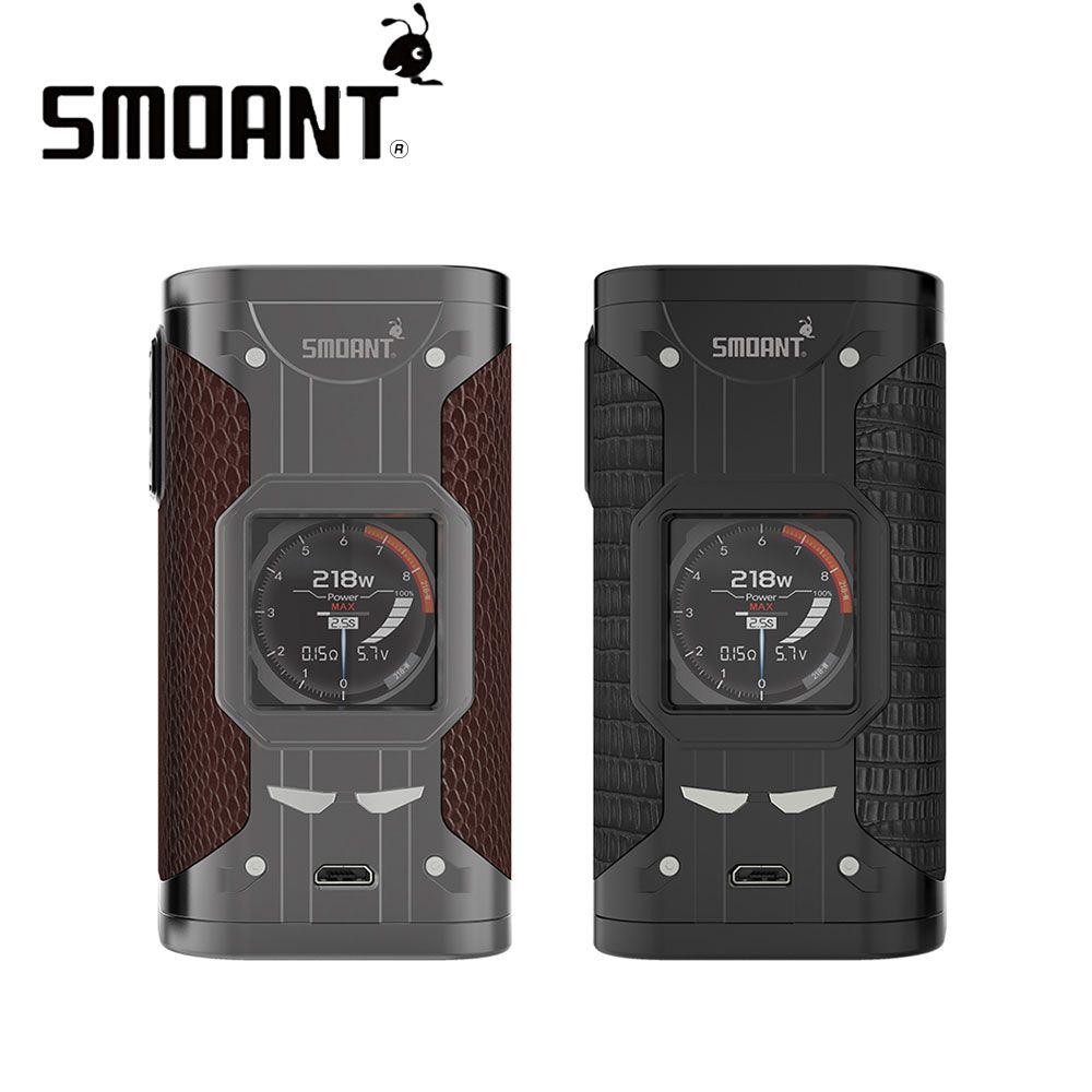 Original Smoant Cylon 218W TC Box MOD with Max 218W Output & 1.3-inch TFT Color Display & VW/TC Curve Mode E-cig Mod No Battery