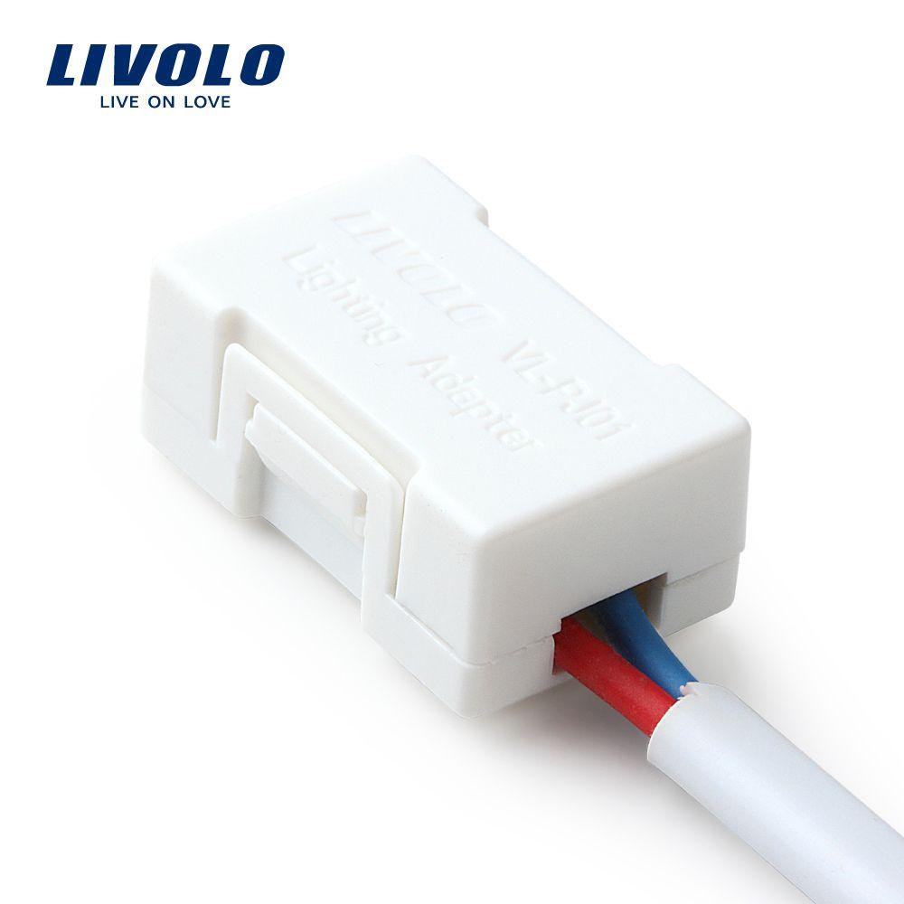 Livolo Beleuchtung Adapter, Die Saviour Der meisten leistung FÜHRTE Lampen (außer dimmbare lampe), weiß Kunststoff Materialien