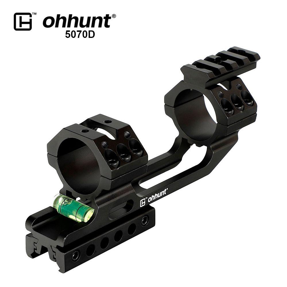 Ohhunt Tactical 30mm/25,4mm Zielfernrohr Ringe Schwalbenschwanz oder Picatinny Schiene Montieren Offset Bi-richtung Basis mit freies Float Schiene