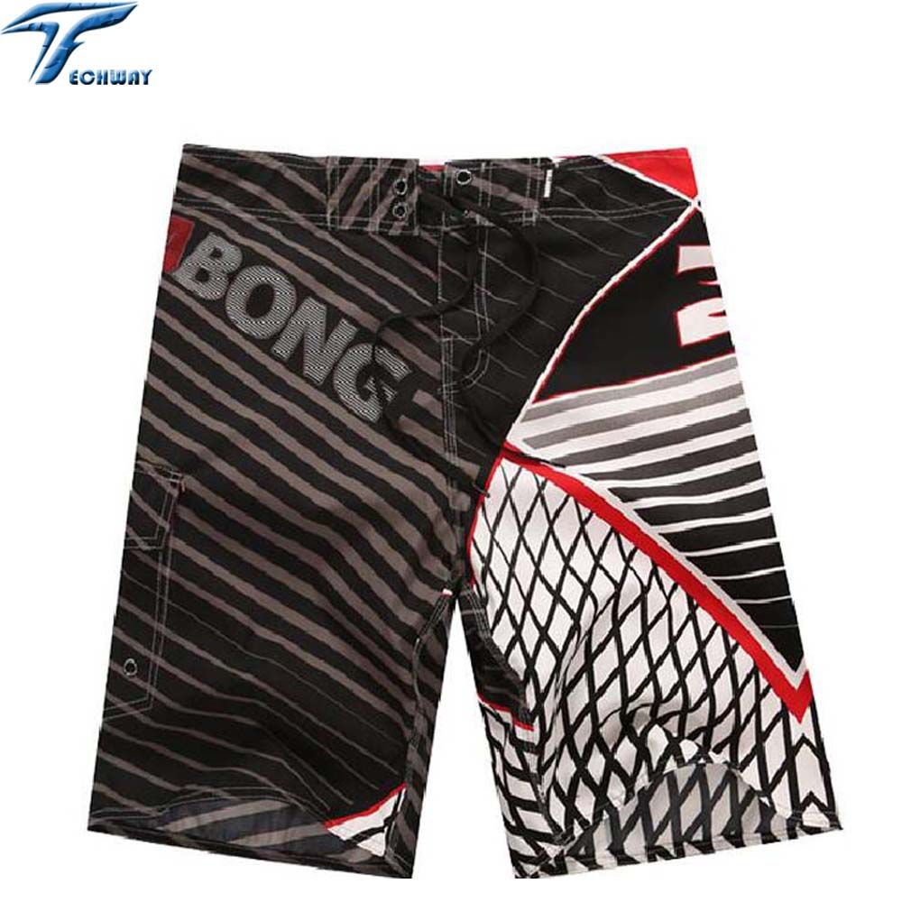 2017 New men beach shorts brand boardshort shorts homme quick drying bermudas masculinas de marca mens surf board shorts