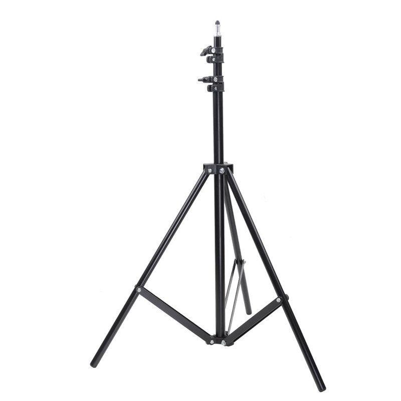 50 70 160 200 CM photographie trépied supports de lumière Photo Studio relfecteurs softbox lumières arrière-plans éclairage vidéo Kits de Studio