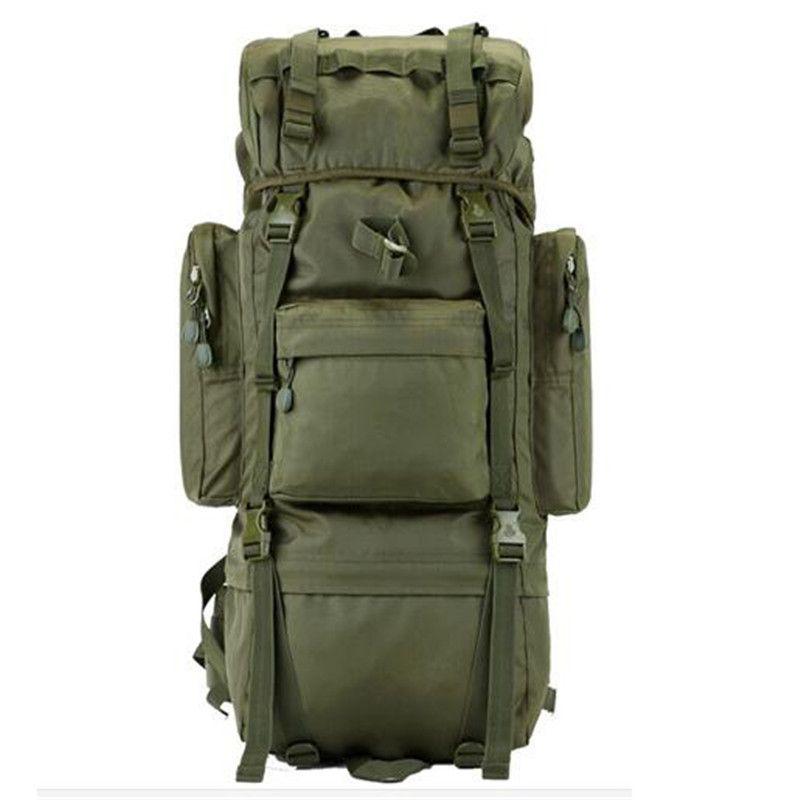 Открытый Для мужчин новый военный рюкзак Водонепроницаемый 800 d Оксфорд сумки дорожные 65-70l рюкзак Пеший Туризм ноутбук мальчик рюкзак