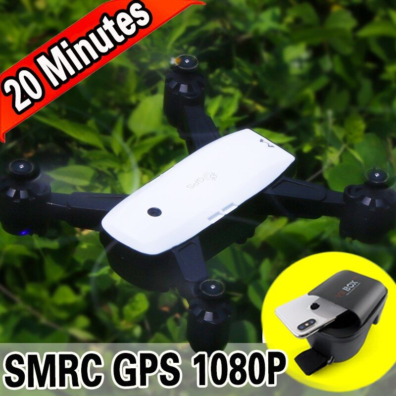 FOLGE MIR FPV RC Drone Mit Live Video 1080 p HD Kamera Fotos Merkmale Doppel GPS Quadcopter 5MP pixel Rückkehr hause Faltbare eders