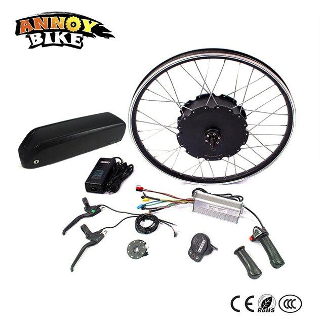 48V 1000W Electric Bicycle eBike Conversion Kits Motor Para Bicicleta 20