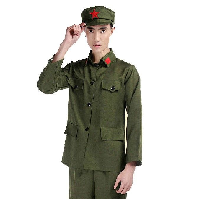 Uniforme militaire Armée Rouge uniformes costumes concert performances