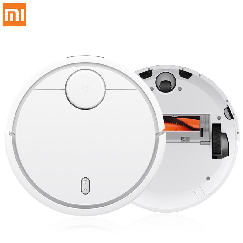 Original XIAOMI Mijia MI Robot Vacuum Cleaner for Home Automatic Sweeping Dust Sterilize Smart Planned Mobile App Remote Control