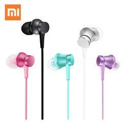 Xiaomi Mi Piston Earphone In-Ear Headset Aluminum Alloy sound chamber Music Stereo for smartphone xiomi Original