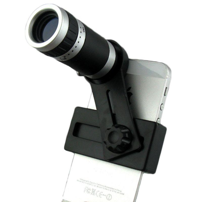 Orbmart 8X Zoom Télescope Téléobjectif Camera Lens Pour iPhone 5 5S 6 6 S Plus Samsung S6 S5 S4 Galaxy Note 4 Xiaomi HTC Mobile téléphone