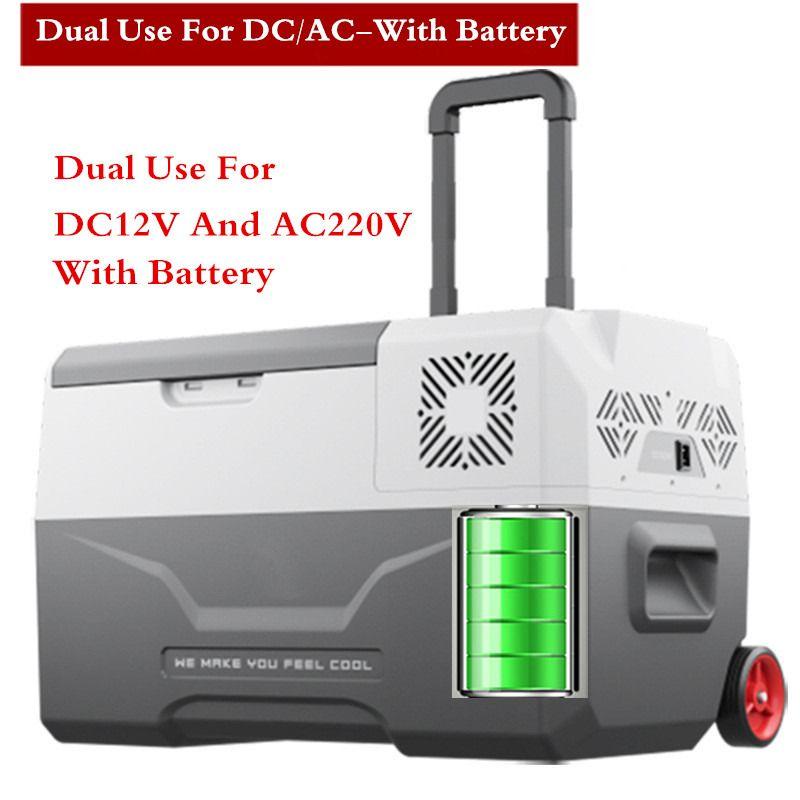 30L Frige-20 Grad 12 v Tragbare Kompressor 24 h Lithium-Batterie Lebensdauer Auto Kühlschrank Mini Multi-Funktion home Kühler Gefrierschrank