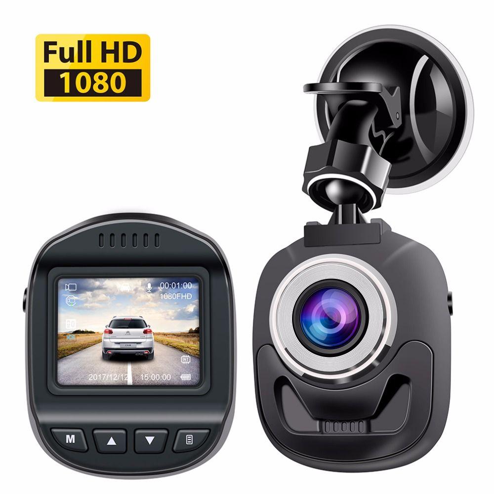 Accfly voiture DVR Dash Cam caméra DVRs voiture enregistreur vidéo Full HD 1080P WDR détection de mouvement g-sensor