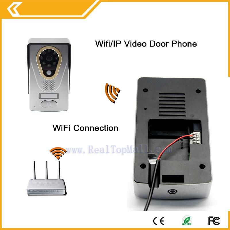 2018 Hot New ip video doorphone Wifi Doorbell Camera Wireless Video Intercom Phone Control IP Door Phone Wireless Door bell