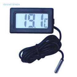 ISHOWTIENDA 1 шт. м практические мини-термометр бытовой температура цифровой метр ЖК дисплей Кнопка батарея включены оптовая продажа