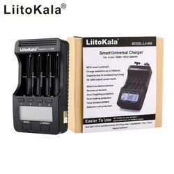 LiitoKala lii-500 LCD 3,7 V 1,2 V 18650 26650 16340 14500 10440 18500 Batterie Ladegerät, 100% original LiitoKala fabrik lii500