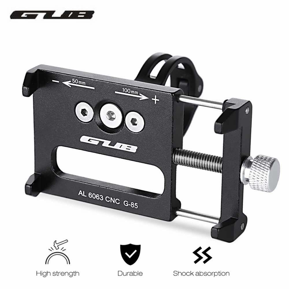 GUB G-85 Réglable En Alliage D'aluminium Vélo support pour téléphone Guidon VTT Vélo Vélo Support De Support Mobile Support de Vélo