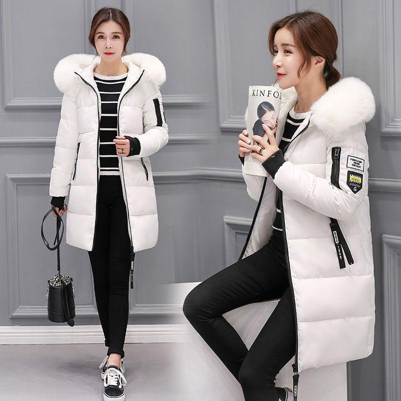 Winter jacket women 2017 new female parka coat feminina long down jacket plus size long hooded duck down coat jacket Women