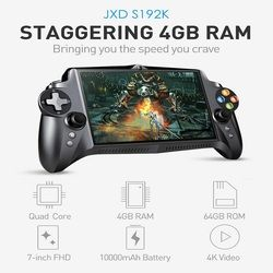 Jxd s192k Reproductores de juegos portátiles 7 pulgadas rk3288 Quad Core 4g/64 GB GamePad 10000 mAh Android 5.1 Tablets PC consola de videojuegos