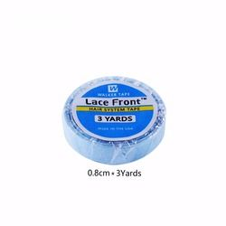 1 roll 0.8cm*3 yards super hair blue tape double-sided adhesive tape for hair extension/lace wig/toupee